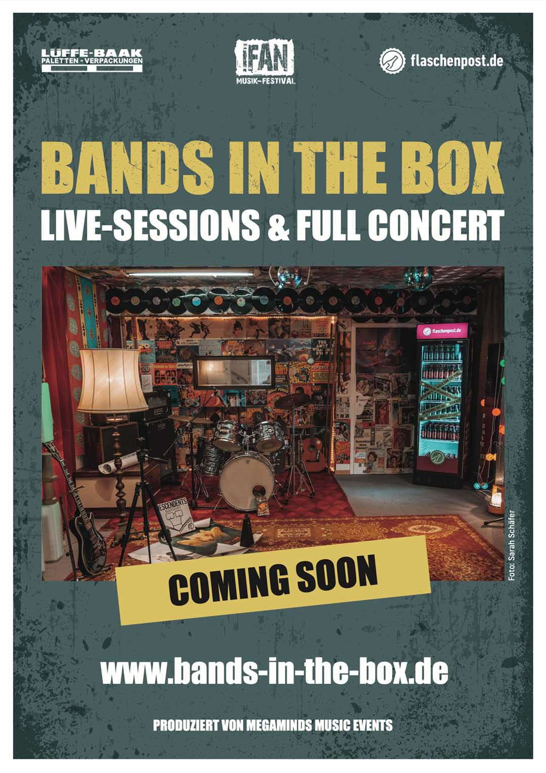 BANDS IN THE BOX - Live-Sessions & Full Concert