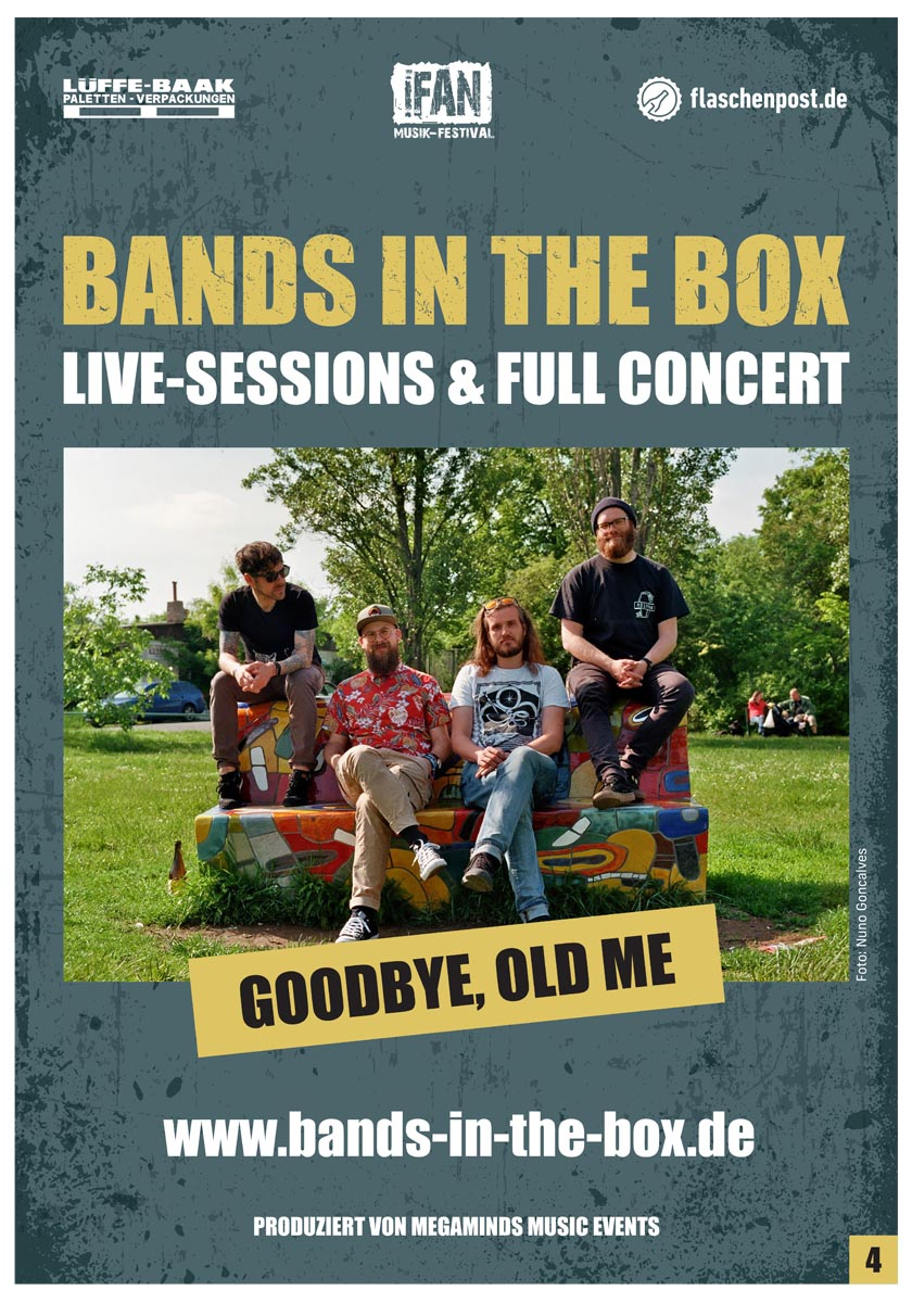 BANDS IN THE BOX - Goodbye, old me