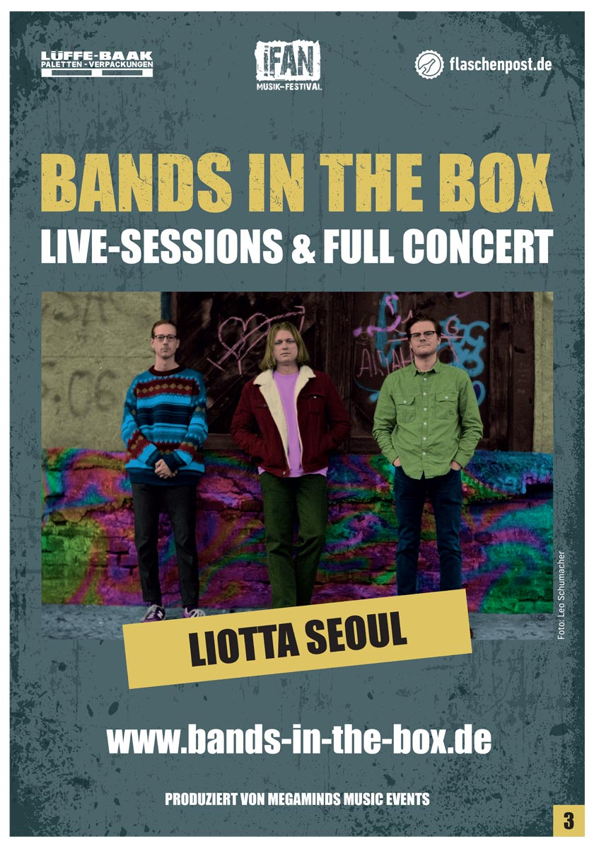 BANDS IN THE BOX - Liotta Seoul