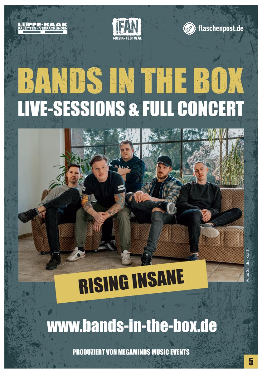 BANDS IN THE BOX - Rising Insane