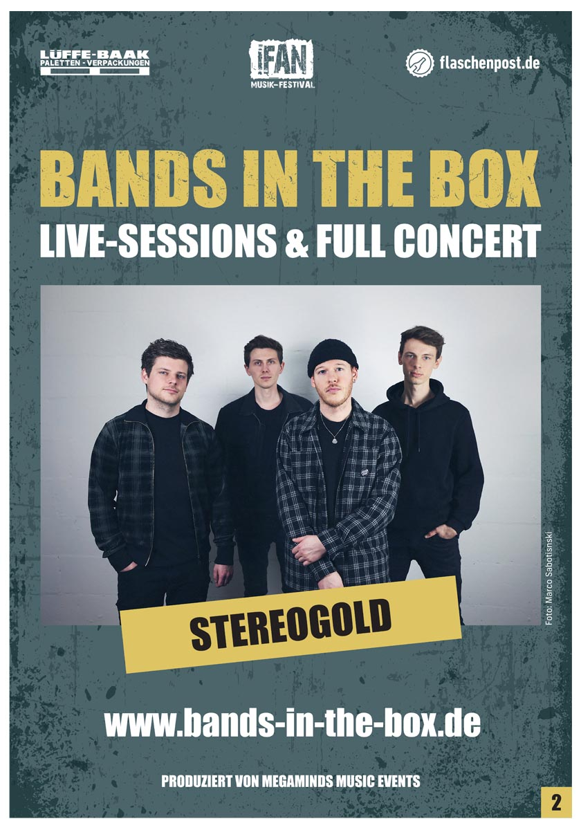 BANDS IN THE BOX - Stereogold